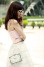 White-choies-bag-white-topshop-sunglasses-light-pink-sheinside-top