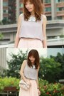 Light-pink-sheinside-dress-light-pink-bow-red-valentino-bag