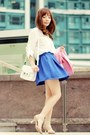 Bubble-gum-choies-blazer-white-proenza-schouler-bag-beige-choies-heels