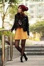 Black-persunmall-boots-maroon-hat-black-sheinside-jacket