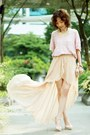 Gold-hilo-maxi-dress-love-dress-light-pink-knit-bbw-sweater