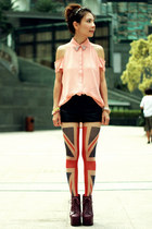 Embellished Collar & Union Jack // Lulus.com