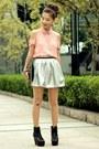 Lace-up-boots-gold-studs-bag-lulus-blouse-gold-studs-belt-skirt