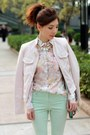 Light-pink-floral-h-m-shirt-light-pink-forever-21-jacket