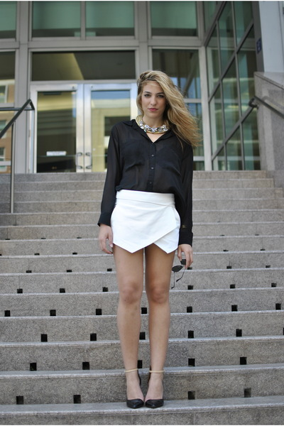 Zara skirt - Forever21 shirt