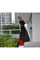 Forever21 top - Celine bag - forevere 21 skirt
