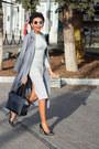 Heather-gray-romwe-dress-charcoal-gray-trench-sheinside-coat