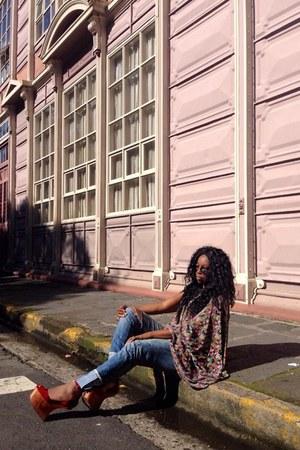 amethyst seven way dress Obra Gris local designer dress - navy Mango jeans