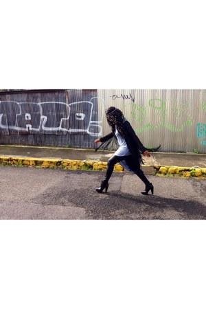 black Forever 21 boots - black Forever 21 leggings