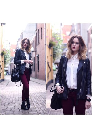 Alexander Wang boots - H&M Trend jacket - Alexander Wang bag