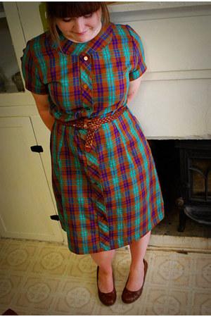 aquamarine vintage dress - tawny Target pumps