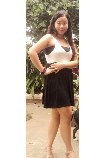 blacktube Teens Black Tube Skirt - New Look.