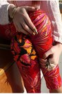 Red-versace-for-h-m-pants