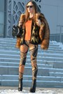 Burnt-orange-h-m-coat-gold-atmosphere-leggings-carrot-orange-zara-blouse