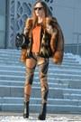 Burnt-orange-h-m-coat-gold-atmosphere-leggings-carrot-orange-zara-blouse