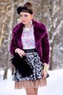 Purple-orsay-coat-heather-gray-h-m-skirt