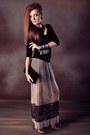 Beige-zara-skirt