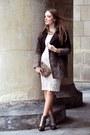 Dark-brown-bershka-coat