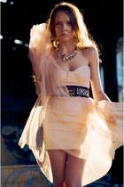 bubble gum Bershka dress