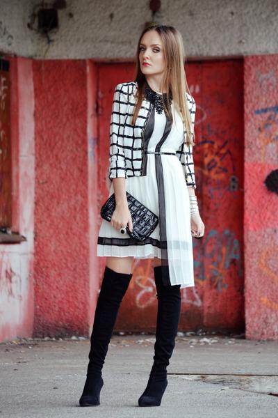 white BaBassu dress