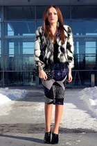 black Chicwish coat