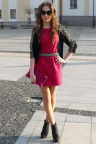hot pink Zara dress