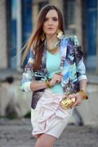 OASAP blazer - romwe skirt