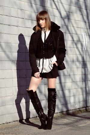 black Jessica Buurman boots