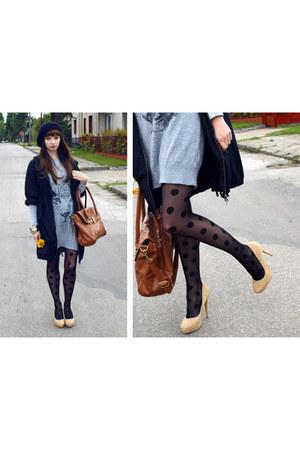 new look dress - Atmosphere bag - Atmosphere heels