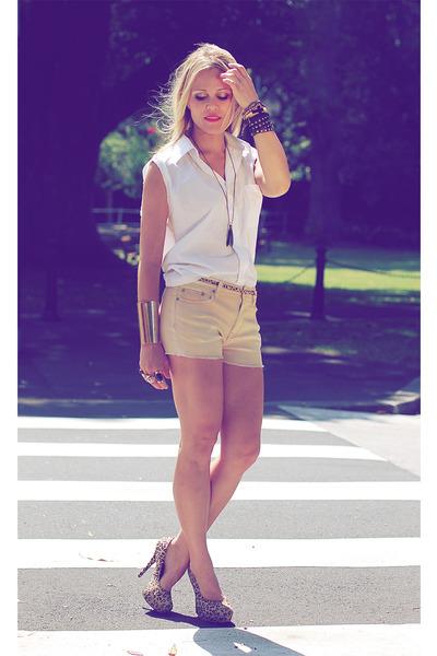 gold shorts Somedays Lovin shorts