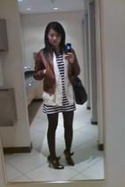 jacket - coat - Mr Price dress - Zoom shoes