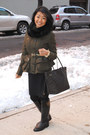 Rubber-tory-burch-boots-peplum-burberry-jacket-fur-bop-basics-scarf