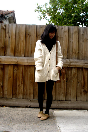 Coloureighteen scarf - Myer vintage sweater - Sportsgirl purse - Windsor Smith s