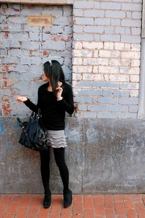 korea dress - Zara boots