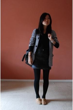 cotton on shirt - Hey Pilgrim jacket - bardot skirt - Windsor Smith shoes