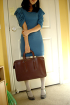 Alpha60 dress - Sportsgirl tights - vintage purse - shoes