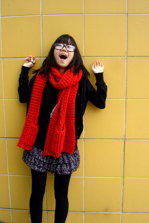 Revival scarf - g2000 sweater