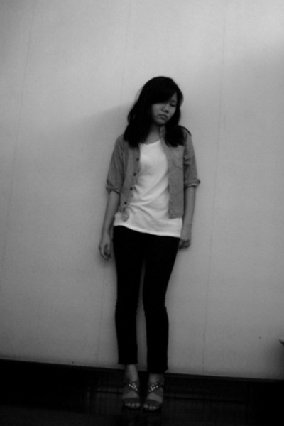 agentninetynine top - Guess baby jacket - Dotti jeans - shoes