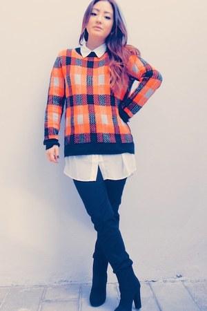 asos jumper - H&M jeans