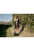 Ebay skirt - black vintage bag