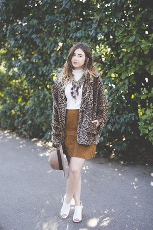 tawny Zara skirt - white Primark shoes - white Miss Selfridge top