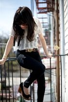 Urban Outfitters belt - steve madden- borrowed from rock paper vintage shoes