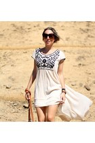 Jeffrey Campbell boots - free people dress - cat eye zeroUV sunglasses