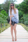 Queens-wardrobe-shorts-cat-eye-romwe-sunglasses