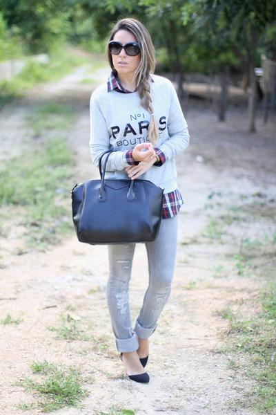 Mango sweater - OASAP bag