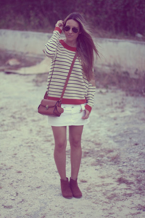 navy Sheinside sweater