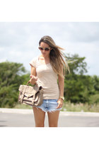romwe bag - Claires sunglasses - romwe sneakers