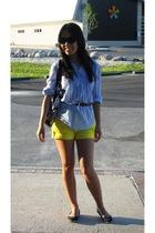H&M shirt - shorts - joe fresh style shoes