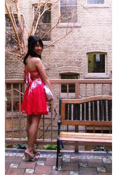 Forever21 dress - Charlotte Russe shoes - le chateau purse