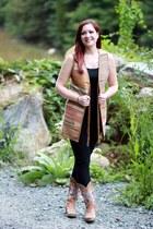 tawny Ralph Lauren vest